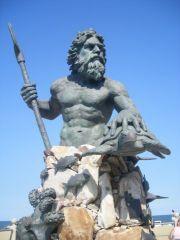 Посейдон-символ Вирджинии-Бич
