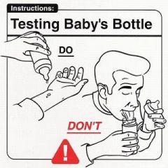 Testing baby\