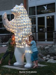 'Spirit Bear' By The Art Gallery 2006 In Prince George BC Canada
