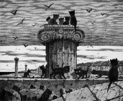 Картина работы Дмитрия Санджиева.