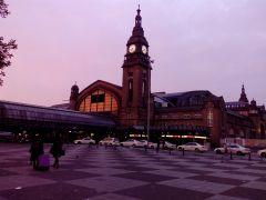 Гамбург центральный вокзал
