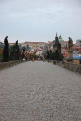 Прага, Карлов мост. Утро