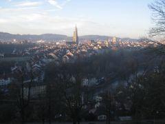 Швейцария утренний Берн