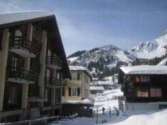 Швейцария горы Мюррен