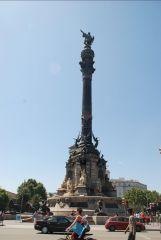 Барселона. Памятник Христофору Колумбу
