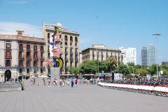 Барселона. Скульптура Лихтенштейна