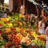 Барселона.Знаменитый рынок Бокерия
