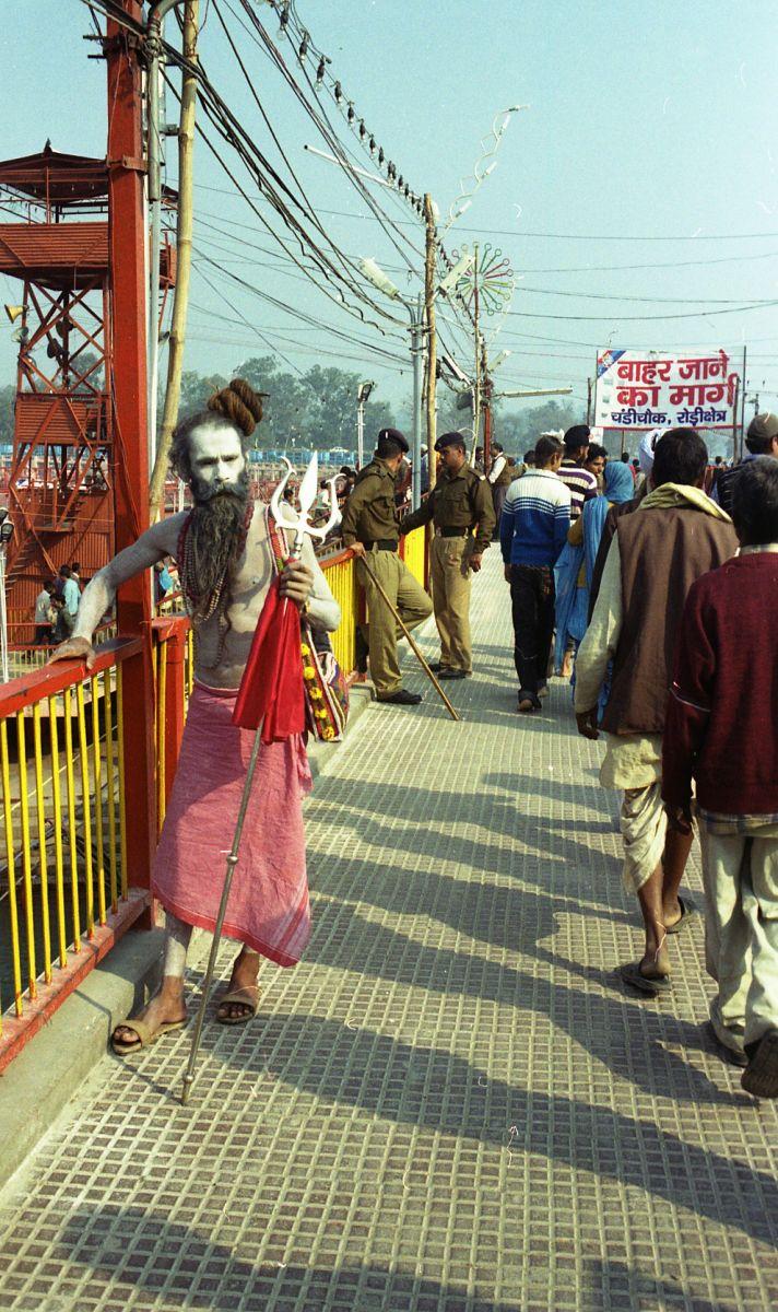 Индия.Город Харидвар.Сикх