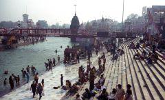 Индия. Город Харидвар. Религиозный праздник Кумбха-Мелла