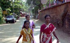 Индия.Штат Керала. Местные жители
