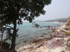 Вид со скалы на бескрайний тайский залив
