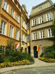 Самый узкий дом в Варшаве