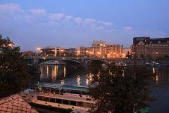 вечерняя Прага после тяжелого пешего дня