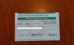 Росперсонал отзывы   Канада, провинция Альберта, Calgary Alberta Personal Health Card