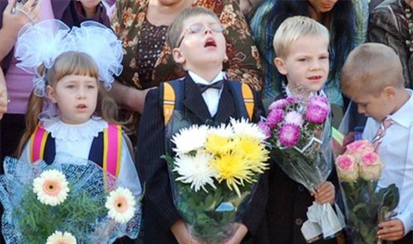 фото школьники на 1 сентября