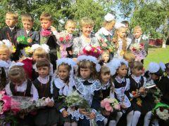 1 сентября, дошкольники и дошкольницы, форма и цветы 30