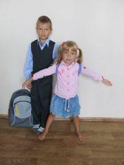 1 сентября, дошкольники и дошкольницы, форма и цветы 28