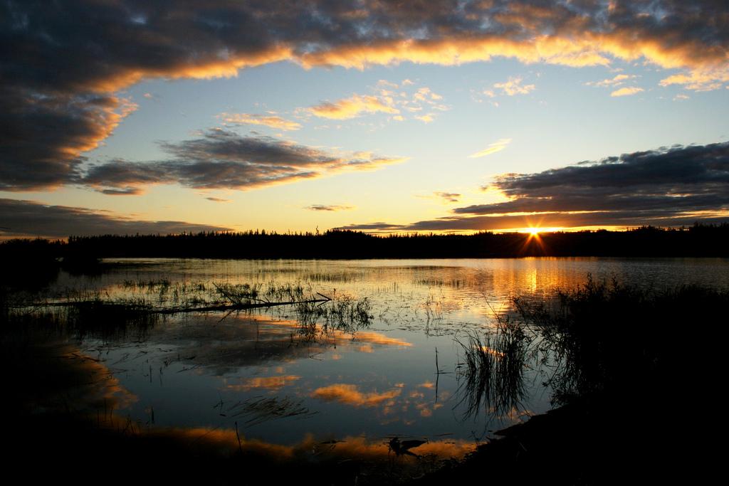 thompson sunset