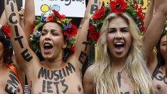 Naked War Auf Dem Roten Teppich   Riesen Wirbel Um Femen Film