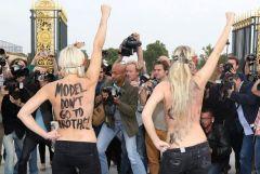 Nina Ricci FEMEN Protest 2