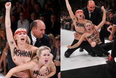 Nina Ricci FEMEN Protest