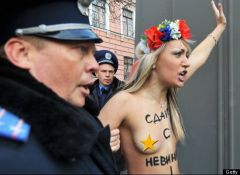 Femen protesters (photo) Are getting A Lot Of attention (obviously) But also having An impact against A system that likes To ignore problems