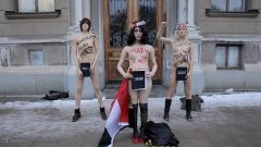 FEMEN Is RELIGIOPHOBIC because All religions oppress women