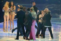 Femen's Topless Protestors Interrupt Germany's Next Top Model On Live TV (NSFW ish)