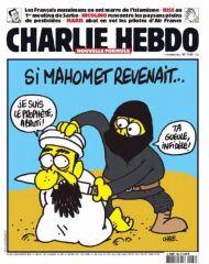сатирический журнал Charlie Hebdo в Париже, опубликовавший карикатуру на лидера боевиков группировки 'Исламское государство' Абу Бакра