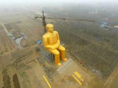 Mao zedong statue china1