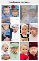 Prince George vs. Great Granny