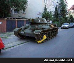 Потивоугонное для танка