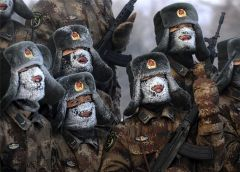 Из фотоконкурса 'Россия, нищая Россия' Тяжело в учении   легко в бою!