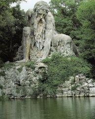 Апеннинский колосс, статуя 16 века