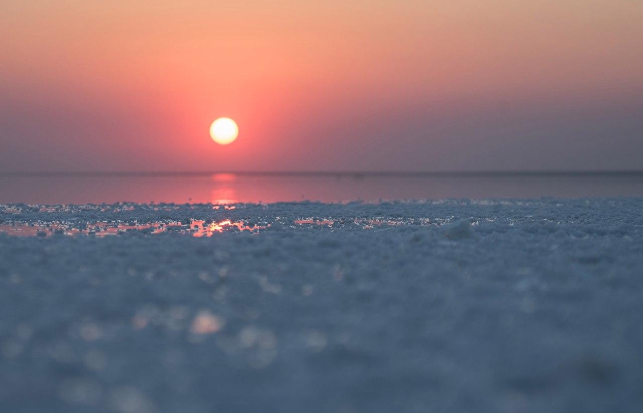 Соленое озеро Эльтон, Волгоградская обл.