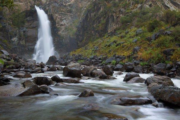 Водопад Куркуре, Алтай