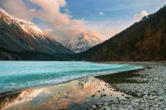 Кучерлинское озеро, Россия.