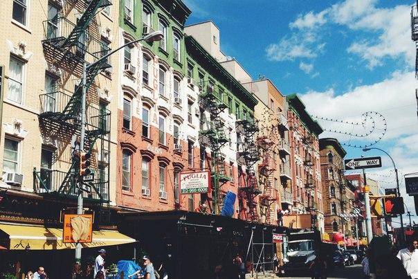 New York, квартал маленькая италия