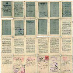 Бессрочный заграничный паспорт. 1910 г.