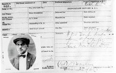 Заграничный паспорт Владимира Маяковского