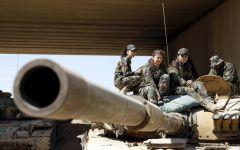 Сирийское танковое подразделение