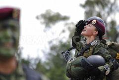 Женщины в армии и полиции