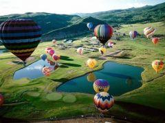 воздушные шары в Уэльсе