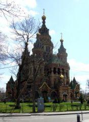Церковь святых апостолов Петра и Павла в Петергофе