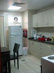 кухня в номере отеля