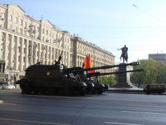 перед репетицией военного парада