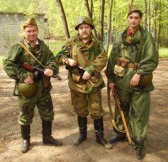 наши солдаты