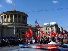 Парад в Санкт-Петербурге 9 мая 2012 года