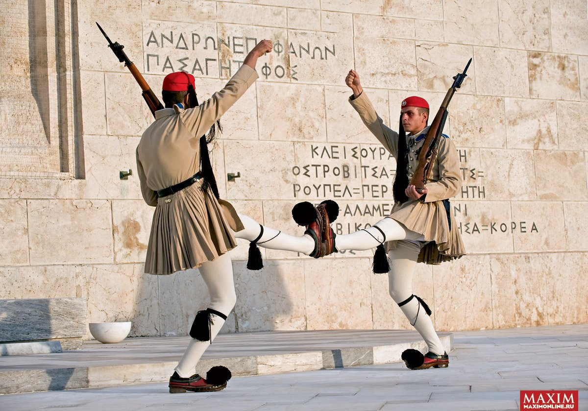 Греция в смешных картинках