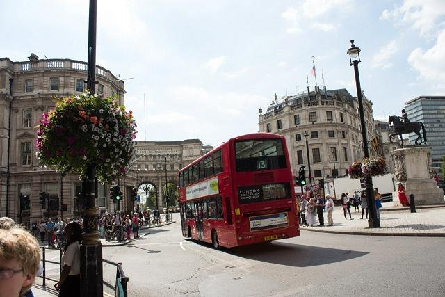 Just a step away from Trafalgar Square